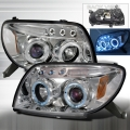 2003-2006 Toyota 4Runner Projector Headlight Chrome - 1 Pair
