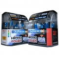 9005+H1 5900K SUPER WHITE XENON HID HALOGEN HEADLIGHT BULBS COMBO