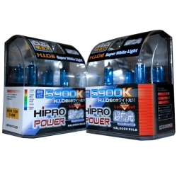 9005+H11 5900K SUPER WHITE XENON HID HALOGEN HEADLIGHT BULBS COMBO