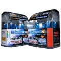 H11+H7 5900K SUPER WHITE XENON HID HALOGEN HEADLIGHT BULBS COMBO