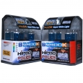 H4 (9003) 5900K SUPER WHITE XENON HID HALOGEN HEADLIGHT BULBS - 2 PACK
