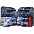 H7 5900K SUPER WHITE XENON HID HALOGEN HEADLIGHT BULBS - 2 PACK
