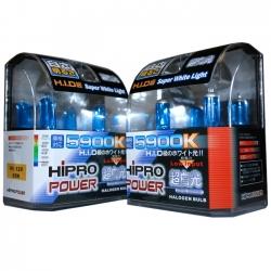 H11+ H9 5900K SUPER WHITE XENON HID HALOGEN HEADLIGHT BULBS COMBO