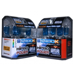 9004 5900K SUPER WHITE XENON HID HALOGEN HEADLIGHT BULBS - 2 PACKS