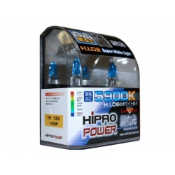 H1 5900K SUPER WHITE XENON HID HALOGEN FOG LIGHT BULB