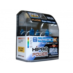 H3 5900K SUPER WHITE XENON HID HALOGEN FOG LIGHT BULB