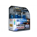 H4 (9003) 5900K SUPER WHITE XENON HID HALOGEN HEADLIGHT BULB